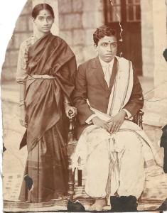1919 Mummy and Daddy wedding